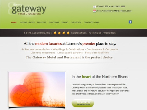 Lismore Gateway Motel and Restaurant [home featured]