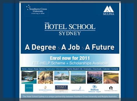 The Hotel School Sydney