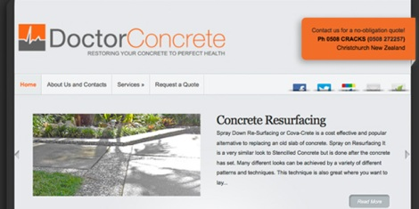 Dr Concrete, Christchurch NZ