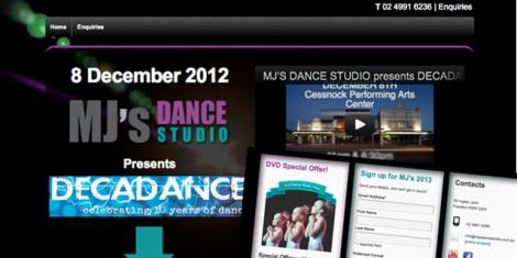 MJs Dance Studio November 2012