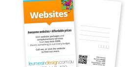 Leumesin Design Postcard