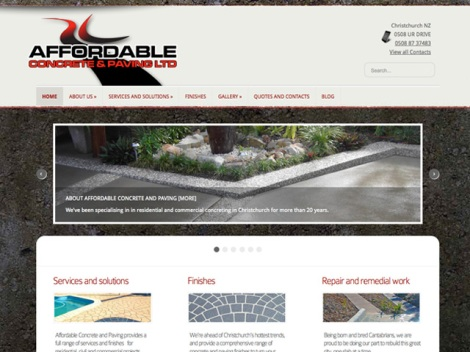 Featured - Affordable Concrete and Paving