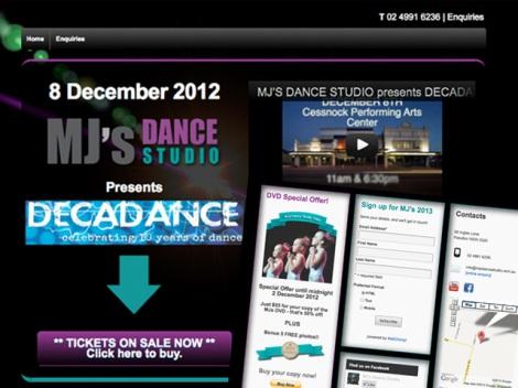 Featured-- MJs Dance Studio