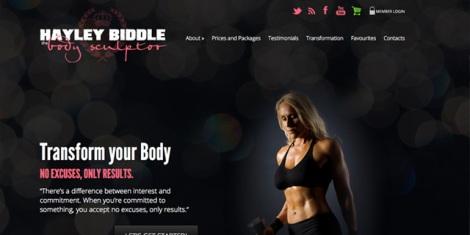 Hayley Biddle - The Body Sculptor